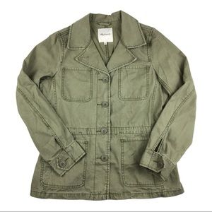 Madewell Outbound Military Utility Jacket, M